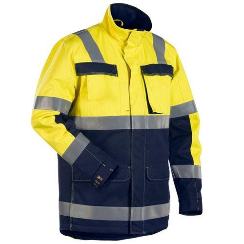 Blakläder 4468153033894X L Multinorm Chaqueta de invierno tamaño 4X L, color amarillo/azul marino 1 Blakläder