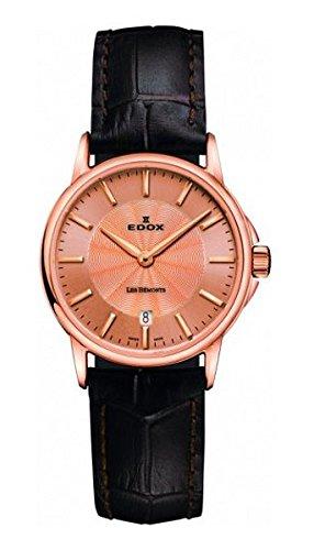 EDOX 57001 37R ROIR - Reloj de pulsera Mujer, color Marrón