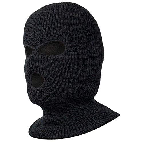 Black Snake® Taktische Sturmhaube Paintball Maske Gesichtsmaske Schwarz OneSize -
