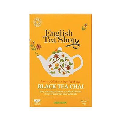 English Tea Shop Thé Noir Chai Bio 20 Sachets 40 g