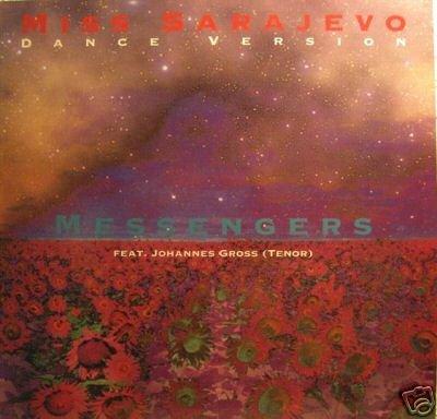 MIss Sarajevo (feat. Johannes Gross; dance version) / Vinyl Maxi Single [Vinyl 12''] (Messenger Euro)