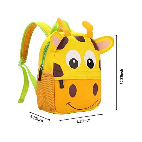 Imagen de dafenq lindo animal la  de jardín de infantes embroma la bolsa de la escuela de la taleguilla bolso de escuela para bebé niño niña perro  alternativa