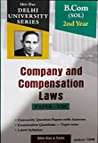 Company and Compensation Laws Paper - VIII B.Com SOL 2nd Year Delhi University For 2020 Exam