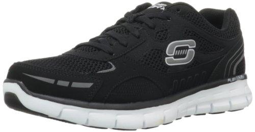 Skechers - Synergyover Haul, Sneaker Uomo Black/White