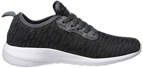 Kappa Unisex-Erwachsene Gizeh Sneaker Schwarz (1116 Black/Grey)