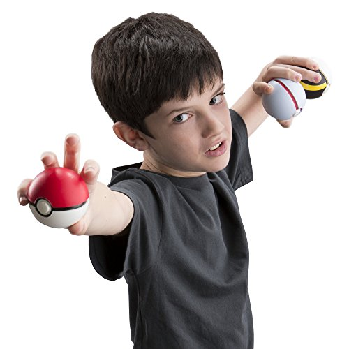 "Image of Pokemon T18810D ""Throw and Catch"" Ball (Pack of 3)"