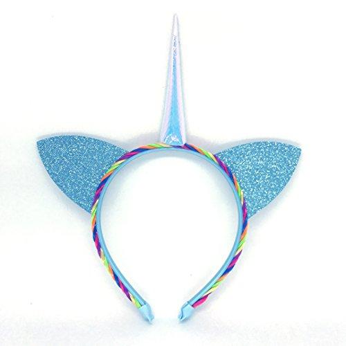 Einhorn-Kostm-Haarreif-Karneval-Fasching-mit-Regenbogenhaar-fr-Damen-Herren-und-Kinder