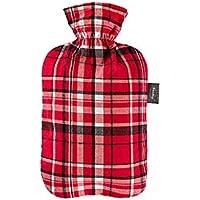 Preisvergleich für Fashy 6536 46 2007 Wärmflasche 2 L mit Baumwollbezug im roten Karodesign
