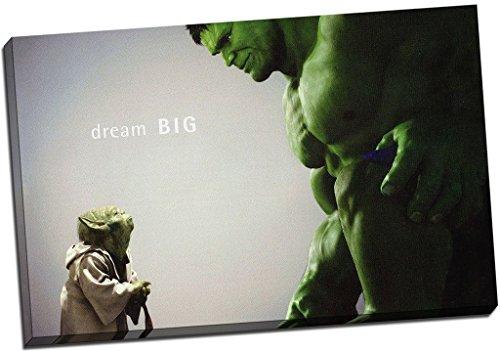 Panther Print Hulk cómic película, cuadro en lámina...