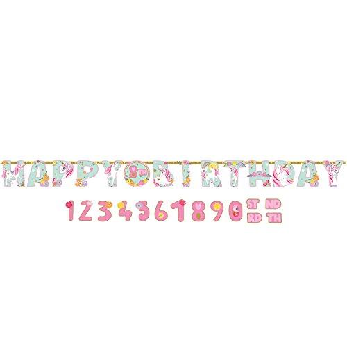 Amscan International Happy Birthday-Girlande