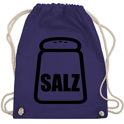 Karneval & Fasching - Salz Karneval Kostüm - Unisize - Lila - WM110 - Turnbeutel & Gym Bag (Erwachsenen Salz Kostüme)