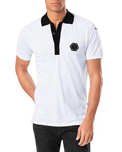 Philipp plein t-shirt manica corta bianco s