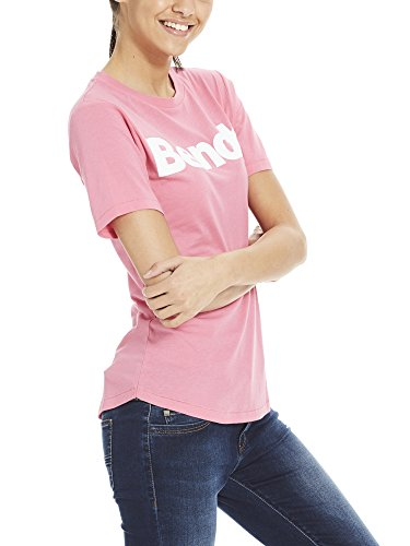 Bench Damen T-Shirt Core Logo Tee Rosa (Chateau Rose Pk052)