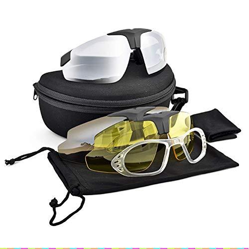 Tactical Brillen UV400Schutz Daisy C1Airsoft Motorrad Sonnenbrille Jagd Outdoor Brillen Motor Brille für Herren Kit Herren Combat Krieg Spiel Gläser