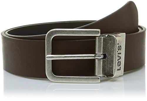 Levi's Herren Reversible Gürtel, Braun (Brown), 110 cm (Herstellergröße: 110) (Herren Reversible Gürtel)