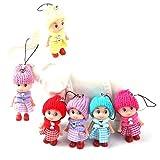 hengbaixin 5 Stück/Set niedliche Kinder, weich, interaktiv, Babypuppen-Spielzeug, Mini-Dekoration,...
