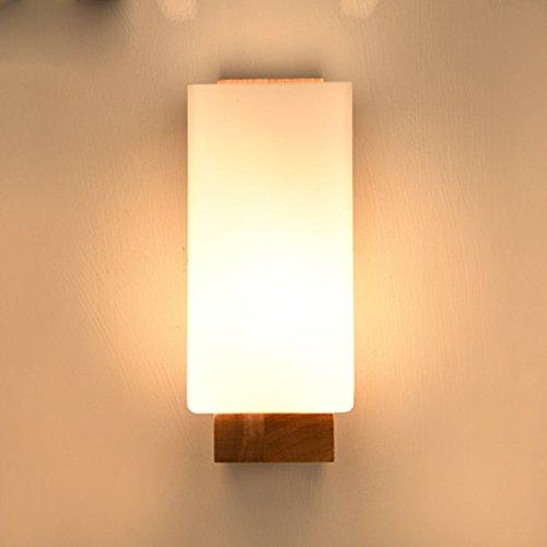 Lampe Murale Scandinave En Bois Applique Murale Style Simpe Pour