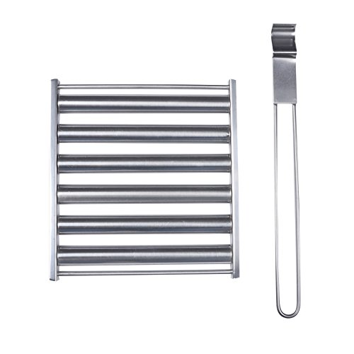Azuma Barbecue Sausage Roller Turner Stainless Steel Tool Accessory Grill BBQ