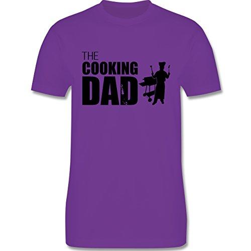 Grill - The cooking Dad - Herren Premium T-Shirt Lila