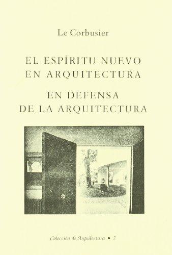 Descargar Libro Libro Espiritu nuevo en arquitectura, el (2ª ed.) de Le Cornusier