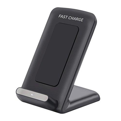 bescita Qi sans fil chargement rapide-aufladenstandplatz rapide pour Samsung de galaxie/S7/S7 bord BK
