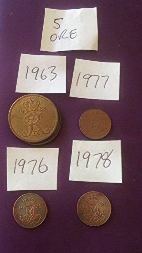 5 Five Ore Dänische Münze Dänemark Europa Wikinger Dänemark (Wikinger-münze)