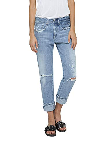Replay Damen HETER Boyfriend Jeans, Blau (Light Blue 10), W27/L30 (Herstellergröße: 27) -