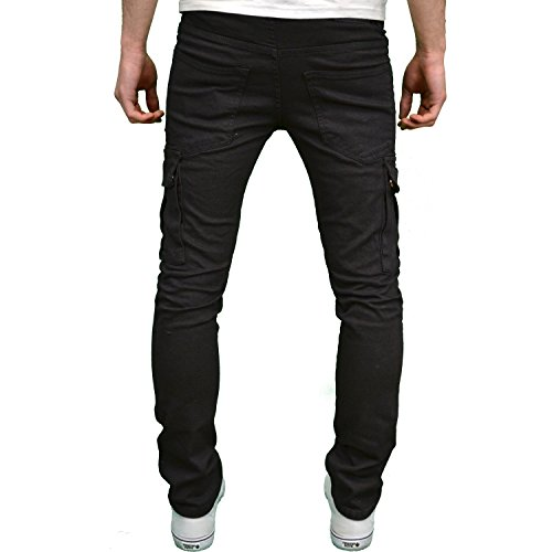 Seven Series Herren Jeanshose Biker - Grey