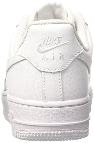Nike  WMNS AIR FORCE 1 07, chaussures de sport femme Blanc (White/White)