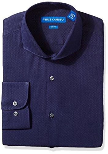 vince-camuto-mens-slim-fit-textured-dress-shirt-midnight-blue-dobby-155-neck-32-33-sleeve