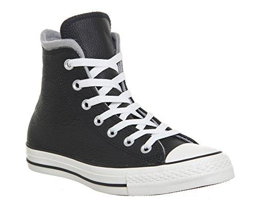 AS Hi Leather Converse Mandrini 139820C Hiker2 Lea Pigna Brown Premium Chuck Black