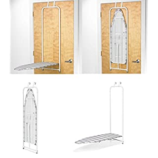 AQS International  Household Over the Door Ironing Board With Holder Compact Space Saver