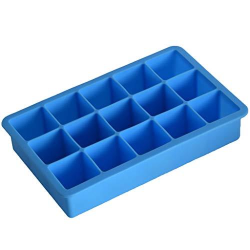 Syeytx 15 platz Platz Neue Heiße Silikon Einfrieren Mold Bar Pudding Jelly Chocolate Maker Mold Eiswürfel Boxen - Auto Chocolate Mold