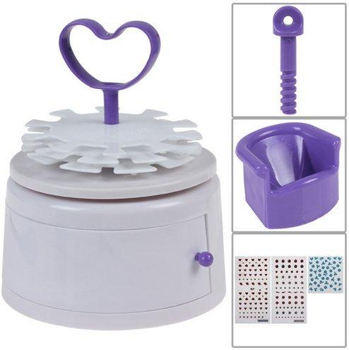 NAIL BEAUTY - Máquina para la decoración de las uñas (200 diseños)