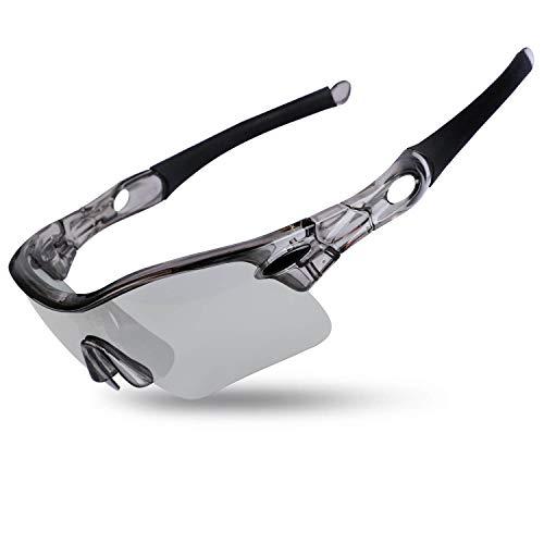 WESTGIRL Polarisierte Sonnenbrille Sport für Männer, Frauen, UV400-Schutz Unbreakable Super Light Framebrille für Radfahren Laufen Fahren Angeln Klettern Golf Baseball