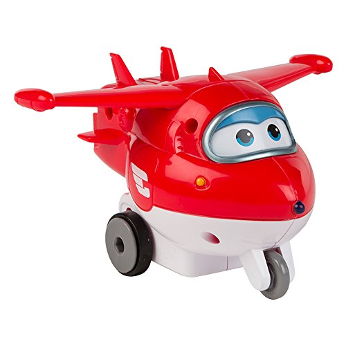 Super Wings - Jett personaje de fricción Super Wings (ColorBaby 75868)