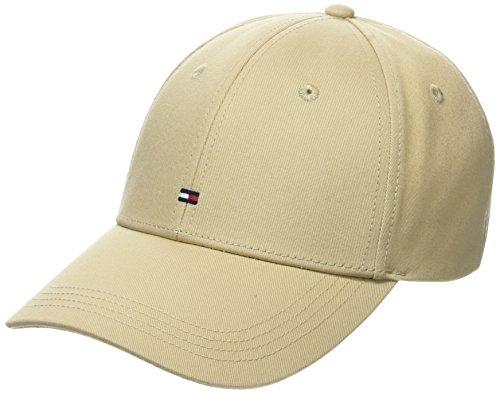 Tommy Hilfiger Herren Baseball Classic BB Cap, Beige (Safari 904), One Size (Herstellergröße: OS)