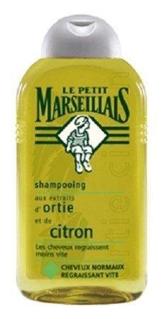 Großflasche 300 ml Le Petit Marseillais Shampoo mit Brennnessel und Zitrone für schnell fettendes Haar