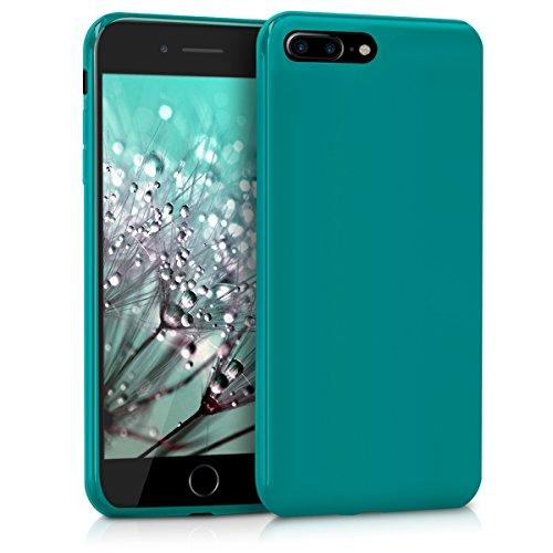 kwmobile Apple iPhone 7 Plus / 8 Plus Hülle - Handyhülle für Apple iPhone 7 Plus / 8 Plus - Handy Case in Petrol matt