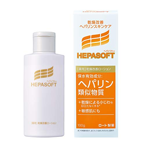 Rohto Hepasoft Face Lotion for Dry Skin 100g