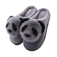 JLCP Winter Warm Slippers, Cute Panda Cotton Pregnant Women