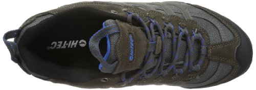Hi-Tec Penrith Low WP Grau (Charcoal/Blue 052)