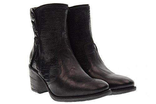 NERO GIARDINI Chaussures femme bottes à talons A719421D / 100 BLACK black