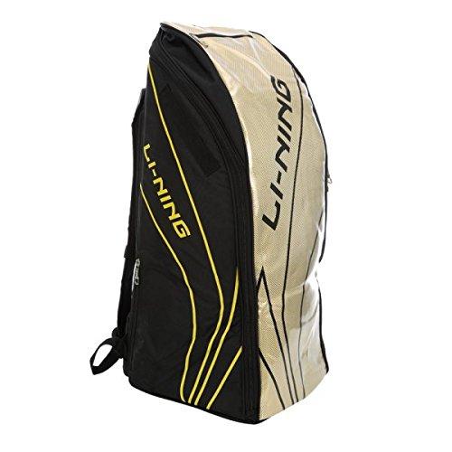 Li-Ning Badminton Kit Bag 6 in 1 - ABSJ402 - Black