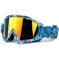 Beydodo Gafas Deportivas Hombre Gafas de Esqui Gafas de Motocross Gafas de Hombre Gafas Protectoras de