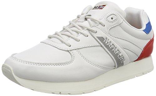 Napapijri Footwear Damen RABINA Sneaker, Weiß (White), 39 EU