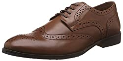 Blackberrys Mens Apollo Brown Leather Formal Shoes - 9 UK/India (43 EU)