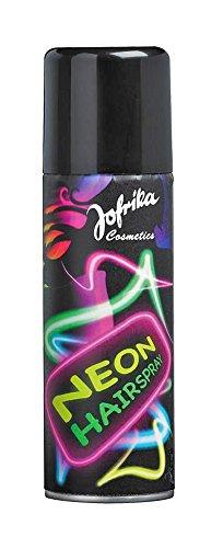 Neon Color Haarspray - Farbspray zum temporären Haare Färben - Gelb - Für Karneval oder Mottoparty in praktischer ()