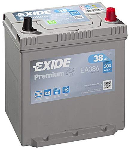 Exide Premium EA 38612V 38AH AH Nuovo Modello 2014/15