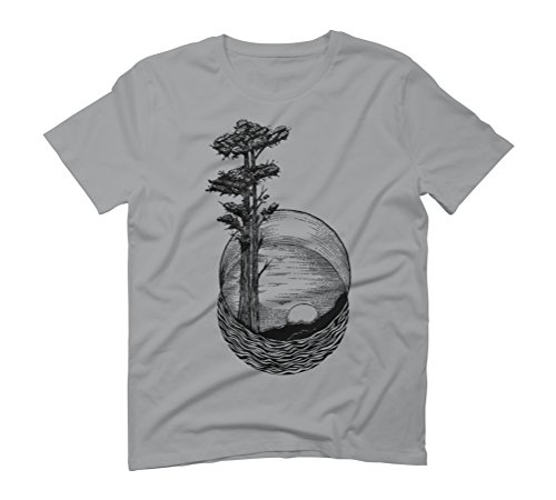 Nature geometric Men's Graphic T-Shirt - Design By Humans Opal